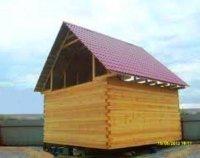 Акция!!! Сруб дома из бруса  со сборкой - ВСЕГО 110 тыс. руб.