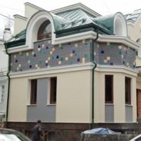 """Керамический фасад """"Графитовый"""""""