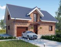 Строительство дома из газобетона 9. 46x13. 05 199. 3 кв. м.