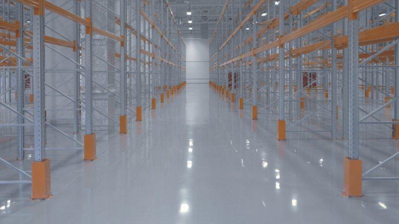Полиуретановые полы для склада