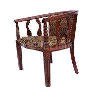 Чайное кресло с подлокотниками В-5. Круглый чайный столик. Чайная группа