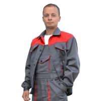 """Рабочий костюм """"Специалист"""" из саржи с полукомбинезоном, летняя спецодежда"""