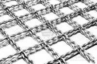 Канилированная (рифлёная) металлическая сетка изделия из неё