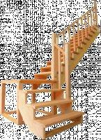 Лестницы из массива Березы и Дуба