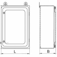 Ящик протяжной ответвительный  К654, К655, К656, К657, К658