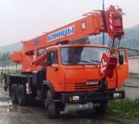 Аренда автокрана 25 тонн в г. Приморске