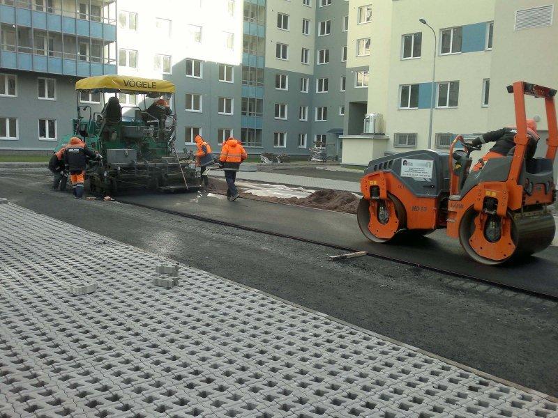 Асфальтирование в Новосибирске по акции