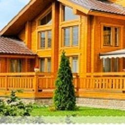 Внутренняя и наружная отделка деревянного дома.Чехов,Подольск,Серпухов.