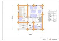 Проектирование и изменения проектов деревянных домов и бань с разбревновкой, разбрусовкой