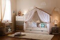 Балдахин для кровати-домика