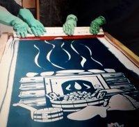 Паста для матирования стекла GLASSETCH silk. Шелкография
