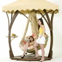 ГАМАКИ С КАРКАСАМИ Купить гамак для дачи Кресло гамак подвесное Садовые качели