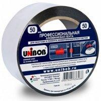Лента клейкая алюминиевая 50мм х 50 м UNIBOB