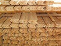 Уголок сосновый наружный 27 мм, 35 мм, 43 мм