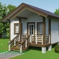 Серия дачные дома бани из кленого бруса 100х145мм конструктивным исполнением стойка в паз