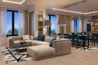 Дизайн интерьера частной квартиры