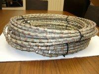Алмазный канат по граниту, мрамору железобетону, принадлежности к алмазным канатам