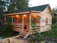 Садовый каркасный домик