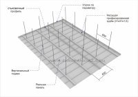 Реечная панель для подвесных потолков навесов на АЗС и фасадов зданий