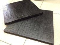 Резиновая плита для складских помещений 500х500х25мм 225руб/шт