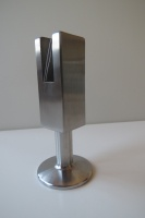 Ножка опорная для стеклянных туалетных кабин, стеклянных перегородок, нержавеющая сталь