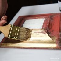 Краска-Поталь (золото, серебро, платина)