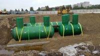Очистные сооружения для ливневой канализации 100 л/с