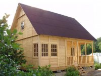 Дачный дом строительство