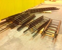Стальные лестницы-стремянки по ТПР 901-09-11.84 для водопроводных колодцев