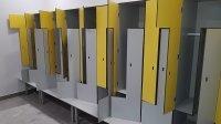 Шкафы шкафчики из пластика HPL, локеры для тренажерных залов, спортивных раздевалок, бассейнов HPL, отелей