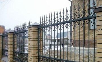 Забор кованый №4