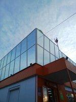 Остекление фасадов зданий, Зимних садов, Витрин, Лоджии