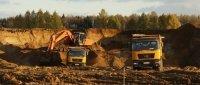 Песок карьерный и сеяный на Дмитровском шоссе, м. к. от 2,5