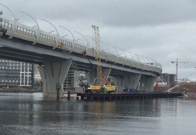 Демонтаж временных мостов