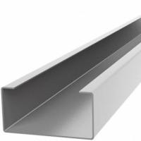 С-Профиль вертикальный 20х70х20 мм Н=1,2мм (оцинкованая сталь/полимер*)