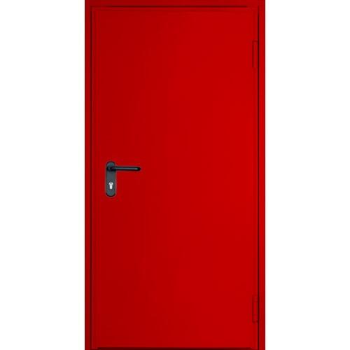 Противопожарная металлическая дверь ДПМ-01/60 EI-60 однопольная