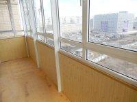 Балконы. Лоджии. Обшивка и утепление внутреннее.  Красноярск.