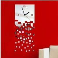 Часы зеркальные настенные