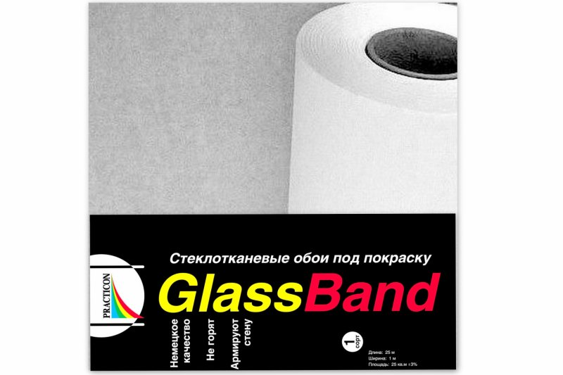 Малярный стеклохолст Glass Band