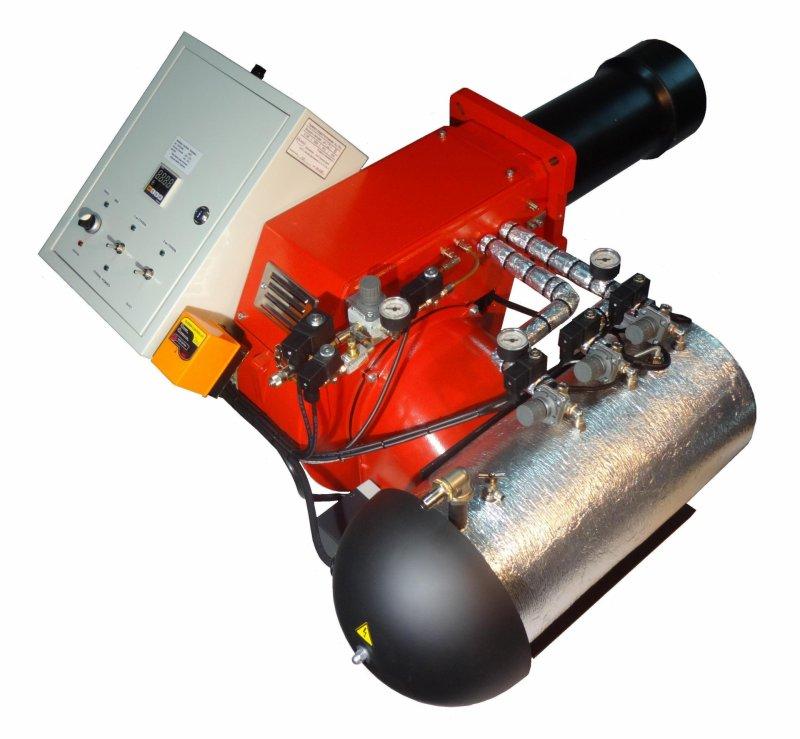 """Горелка на """"отработке"""" AL-50V (200-550 кВт)"""