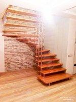Изготовление лестниц из массива дерева
