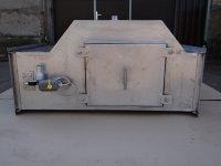 Проточный горизонтальный гидрофильтр 900*400 мм