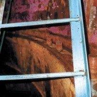 Стальные лестницы-стремянки по серии 3.902-8 для колодцев