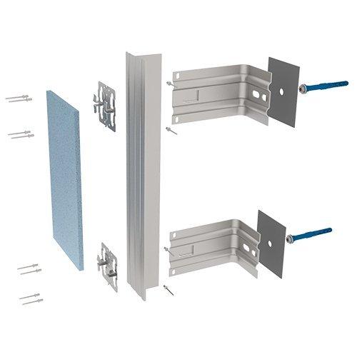 Подсистемы вентилируемых фасадов для керамогранита (АЛЬФА-Керамогранит)