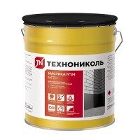 Мастика гидроизоляционная ТЕХНОНИКОЛЬ №24 (МГТН) 20 кг