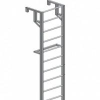 Лестница навесная для полувагонов ЛНАп