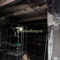 Очистка нежилых помещений после пожара (от сажи и копоти)