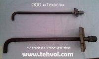 Фундаментный болт 1.1 М24х800 ГОСТ 24379.1-2012 сталь 3