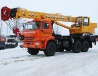 Автокран — Галичанин 25 тонн в аренду