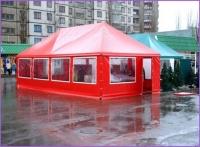 Шатры, палатки, навесы, павильоны, тенты для летних кафе